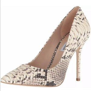 Steve Madden python heels